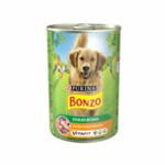 12x Bonzo Blik in Saus Kip-groente-pasta