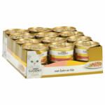 24x Gourmet Gold Fijne Hapjes Zalm - Kip