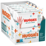 10x Huggies Billendoekjes All Over Clean  56 doekjes