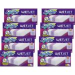 8x Swiffer WetJet Dweilsysteem Navulling Reinigingsdoekjes