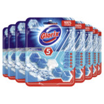 9x Glorix Toiletblok Power 5 Ocean