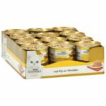 24x Gourmet Gold Hartig Torentje Kip - Wortel  85 gr