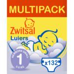Zwitsal Luiers New Born Multipack  132 stuks
