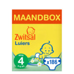 Zwitsal Luiers Maxi Maat 4 Maandbox