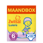 Zwitsal Luiers Extra large Maat 6 Maandbox