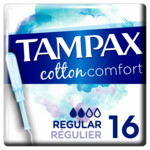 Tampax Cotton Comfort Regular
