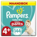 Pampers Baby Dry Luierbroekjes Maat 4+ (10-15 kg)  144 stuks