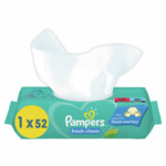Pampers Babydoekjes Fresh Clean  52 doekjes