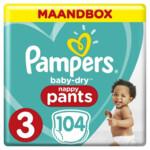 Pampers Baby Dry Luierbroekjes Maat 3 (6-11 kg)