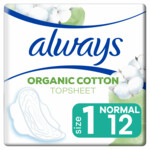 Always Maandverband Bio Cotton Protection Ultra Normal met Vleugels