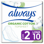 Always Maandverband Bio Cotton Protection Ultra Long met Vleugels