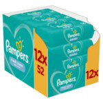 12x Pampers Babydoekjes Fresh Clean