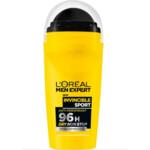 6x L'Oréal Men Expert Deodorant Roller Invincible Sport
