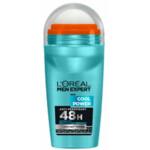 6x L'Oréal Men Expert Deodorant Roller Cool Power