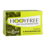 Jacob Hooy Hooyfree 4 Maandenkuur  50 tabletten