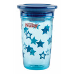 Nuby 360° Wonder Cup in Tritan 6+m Blauw