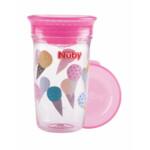 Nuby 360° Wonder Cup in Tritan 6+m Roze
