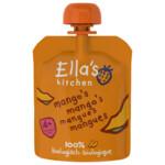 Ella's kitchen Knijpzakje 4+ m Mango