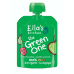 Ella's kitchen Knijpzakje Fruit Smoothie 6+ m Appel Peer Banaan Kiwi  90 gr